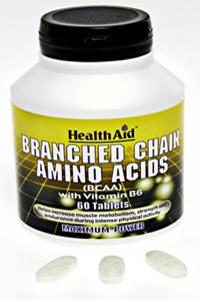 HEALTH AID BRANCH CHAIN AMINO ACID TABLETS 60'S