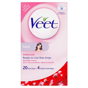 VEET MINI WAX STRIPS FOR FACE 20'S