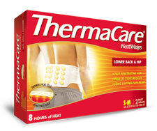 THERMACARE HEAT LOWER BACK/HIP 1'S