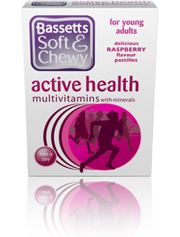 BASSETTS SOFT & CHEWY ACTIVE HEALTH MULTIVITAMINS