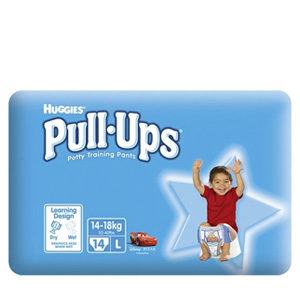 HUGGIES PULL-UPS LARGE BOYS 14'S