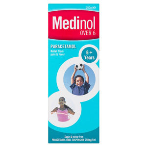 MEDINOL OVER 6 PARACETAMOL 200ML
