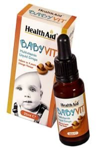 HEALTH AID BABY VITAMIN DROPS 25ML