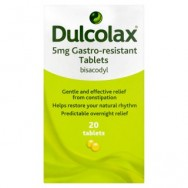 Dulcolax 5mg Gastro-Resistant Tablets 20 Tablets