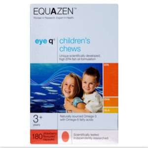 Equazen eye q Children's Chews 180 Strawberry Flavoured Capsules