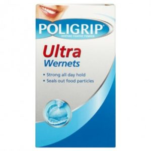 Poligrip Denture Fixative Powder Ultra Wernets 40g
