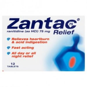 Zantac 75 Relief 12 Tablets
